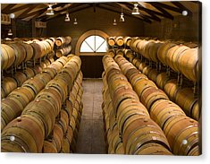 Barrel Room Acrylic Print by Eggers Photography