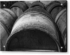 Barrels Of Wine Acrylic Print by Georgia Fowler