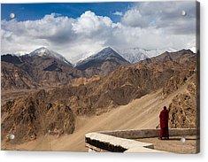 Barren Himalayas Acrylic Print