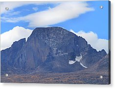 Acrylic Print featuring the photograph Barren Mountain Landscape Colorado by Dan Sproul