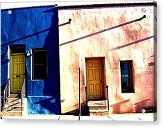 Acrylic Print featuring the photograph Barrio Viejo 1 by Michelle Dallocchio
