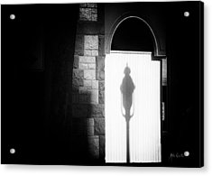 Barristers Window Acrylic Print by Bob Orsillo