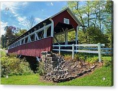 Acrylic Print featuring the photograph Barronvale Bridge  by Cindy Lark Hartman