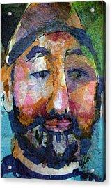 Barry Hornblower Acrylic Print by Arline Wagner