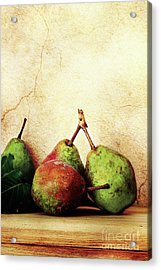 Bartlett Pears Acrylic Print by Stephanie Frey
