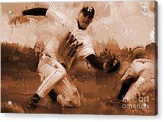 Base Ball 01  Acrylic Print by Gull G