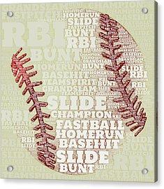 Baseball 2 Acrylic Print