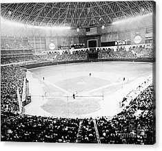 Baseball: Astrodome, 1965 Acrylic Print by Granger
