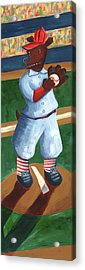Baseball Bear Acrylic Print