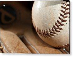 Baseball Acrylic Print
