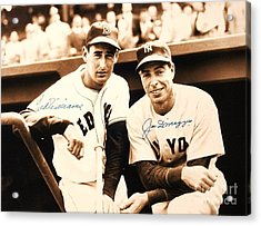 Baseball Heroes Acrylic Print by Roberto Prusso
