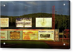 Baseball Sunset 2005 Acrylic Print by Frank Romeo