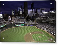 Baseball Target Field  Acrylic Print by Paul Plaine