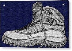 Basic Boot Acrylic Print