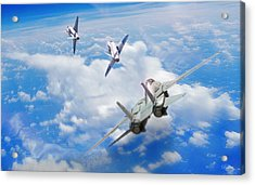 Basic Fighter Maneuvers Acrylic Print