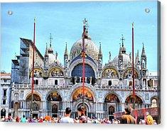 Basilica Di San Marco Acrylic Print by Sarah E Ethridge