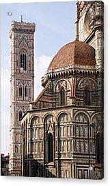 Basilica Di Santa Maria Del Fiore  Acrylic Print by Carl Jackson