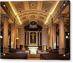 Basilica Of Saint Louis, King Of France Acrylic Print