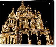 Basilica Of The Sacred Heart Acrylic Print