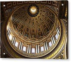 Basilica Acrylic Print by Stefan Nielsen