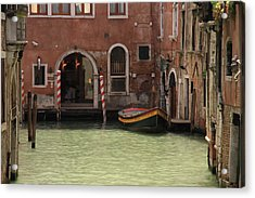 Basin In Venice Acrylic Print by Michael Henderson