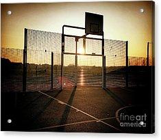 Basket Ball Court Acrylic Print