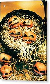Basket Of Little Halloween Horrors Acrylic Print