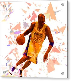 Acrylic Print featuring the painting Basketball 24 by Movie Poster Prints