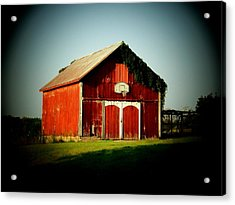 Basketball Barn Acrylic Print