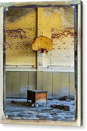 Basketball Diplomacy Acrylic Print by Dominic Piperata