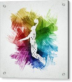 Basketball Player Art 03 Acrylic Print