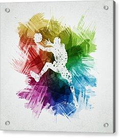 Basketball Player Art 04 Acrylic Print