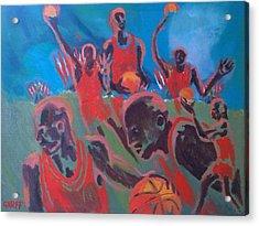 Basketball Soul Acrylic Print