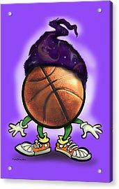 Basketball Wizard Acrylic Print