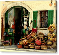 Baskets Anyone Acrylic Print by Lainie Wrightson