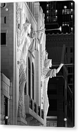 Bass Hall Fort Worth 520 Bw Acrylic Print