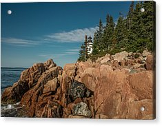 Bass Harbor Head Lighthouse Acrylic Print
