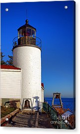 Bass Harbor Head Lighthouse Acrylic Print by Olivier Le Queinec