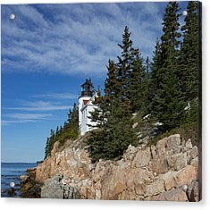 Bass Harbor Light Acrylic Print