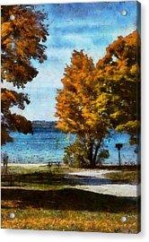 Bass Lake October Acrylic Print