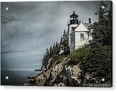 Bass Lighthouse Maine Acrylic Print