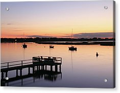 Bass River Before Sunrise Acrylic Print by Roupen  Baker