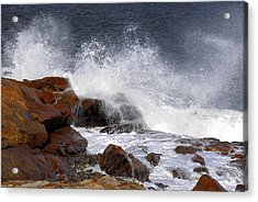 Bass Rocks Acrylic Print