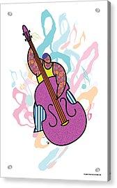 Bass Acrylic Print by Steve Ellis