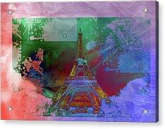 Bastille Day 10 Acrylic Print by Priscilla Huber