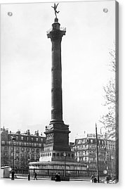 Bastille Monument In Paris Acrylic Print