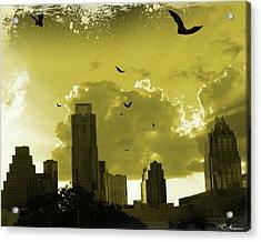 Bat City Acrylic Print