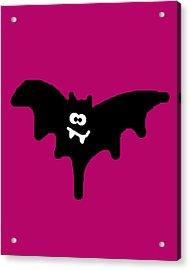 Bat Acrylic Print by Jera Sky
