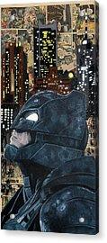 Bat Of Gotham  Acrylic Print