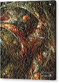 Bat Out Of Hell Acrylic Print by Charmaine Zoe